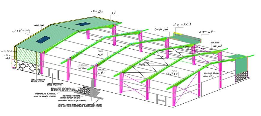 نقشه سازه