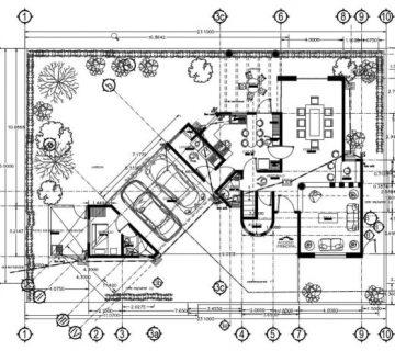 نقشه های ساختمانی